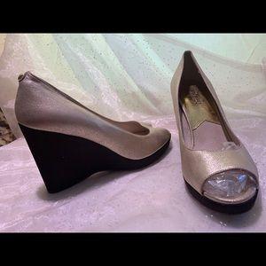Michael Michael Kors wedge heels.